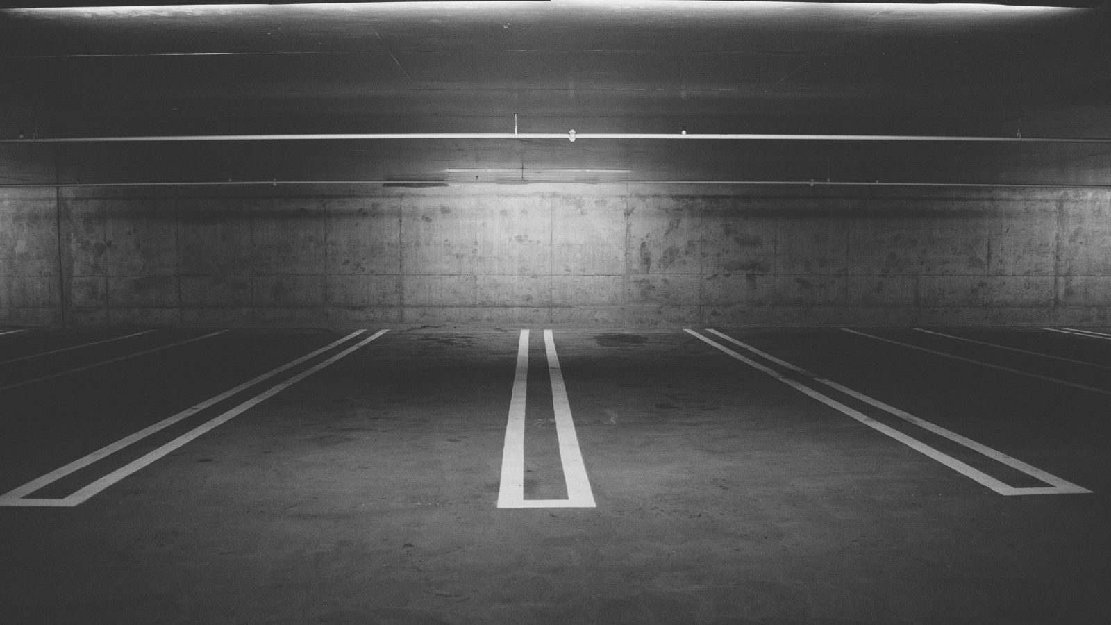 driving - parking deck